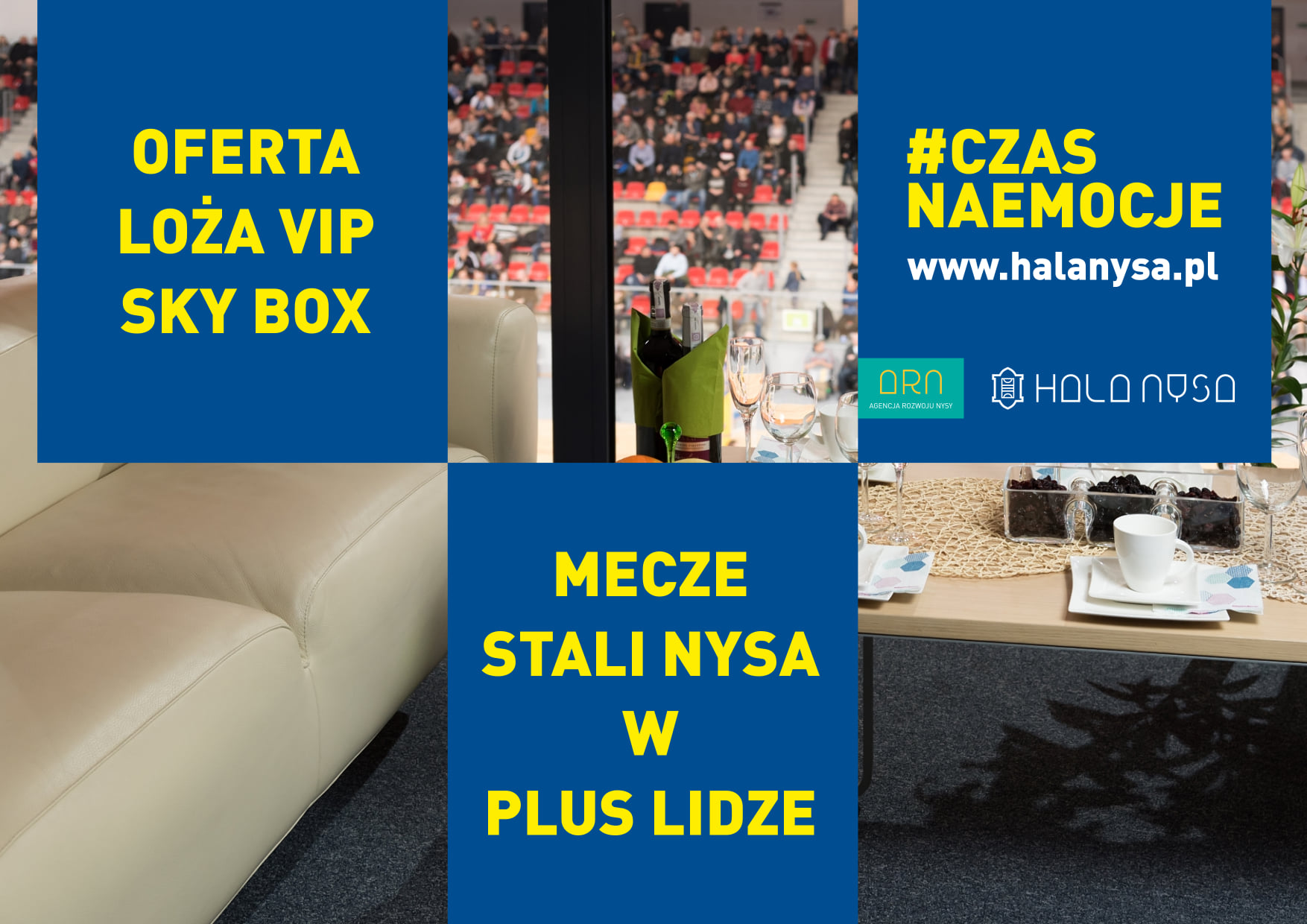 OFERTA - LOŻE VIP SKY BOX