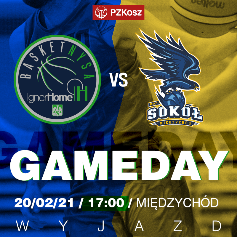 MKS Sokół Międzychód - IgnerHome AZS Basket Nysa