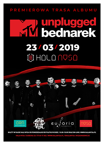plakat BEDNAREK / MTV UNPLUGGED